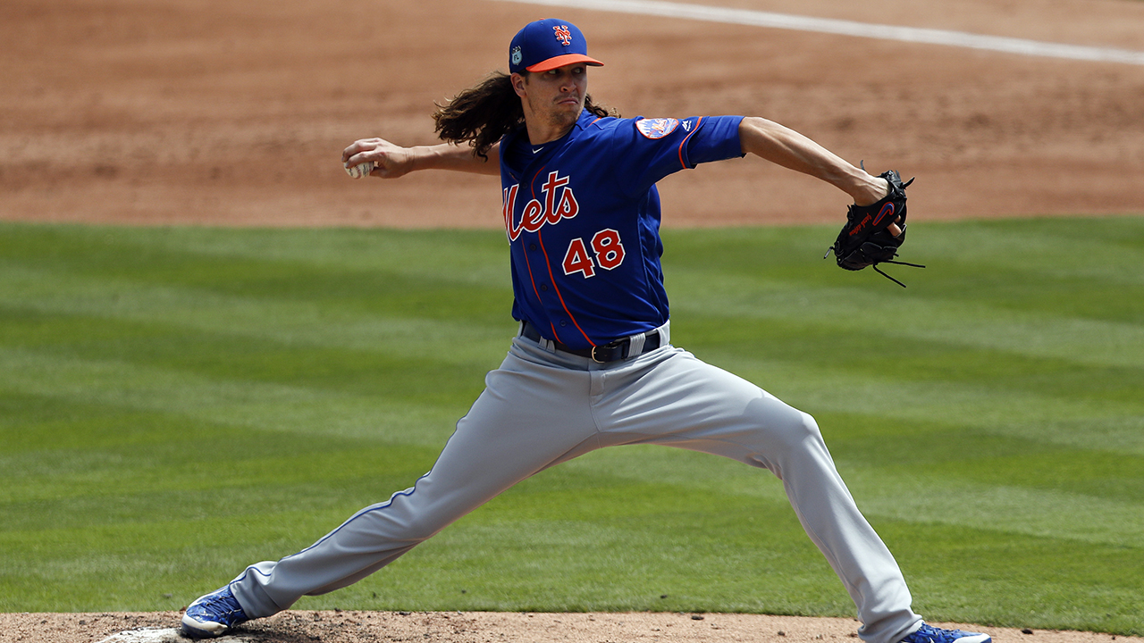 deGrom K's six to continue impressive spring