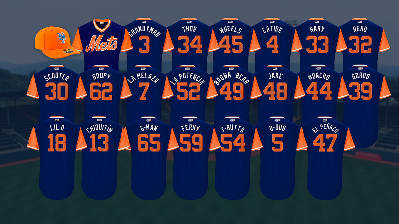 Cespedes, Mets to don nicknames on jerseys